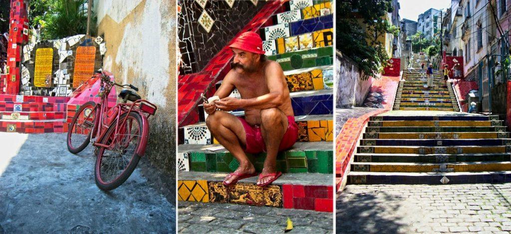 Escadaria Selarón in Rio