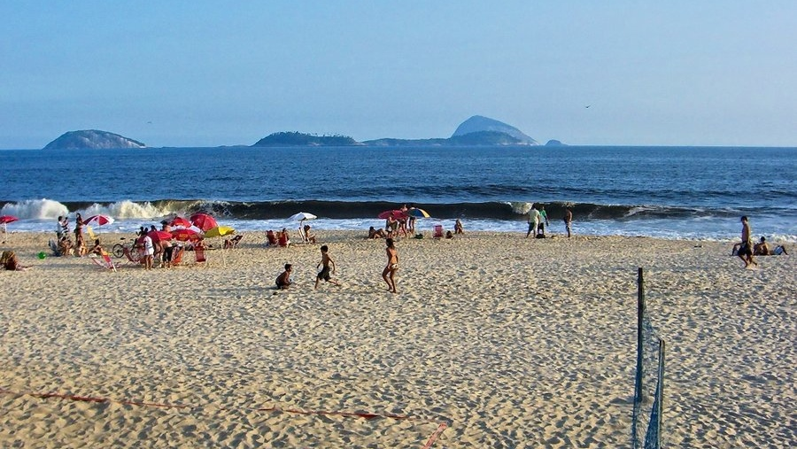 Strand in Rio