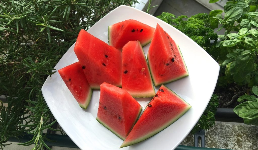 Erfrischende Wassermelone