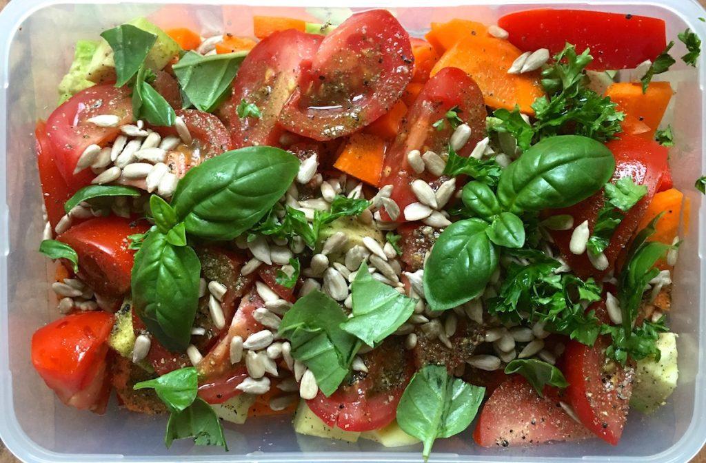 Sommergerichte Salat