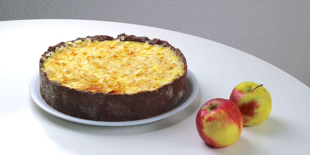 Apfel-Schoko-Pudding-Kuchen | Rezept