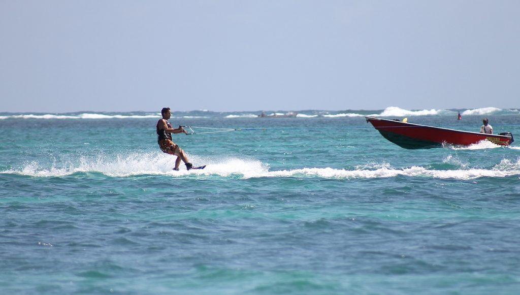 Wassersport auf Mauritius