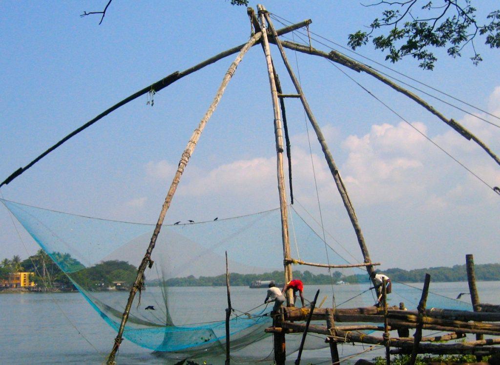 Fischer in Kochi Indien