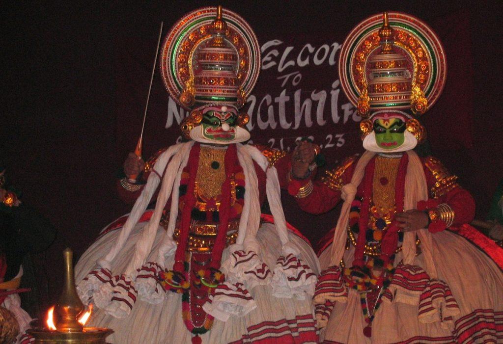 Kathakali-Tanz in Indien