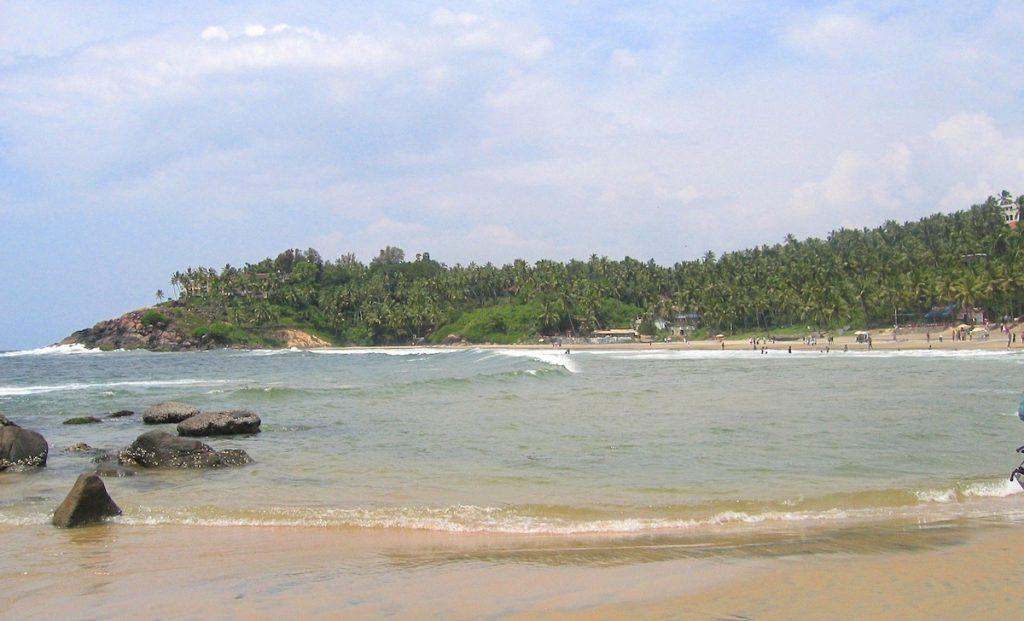 Kovalam Strand in Indien