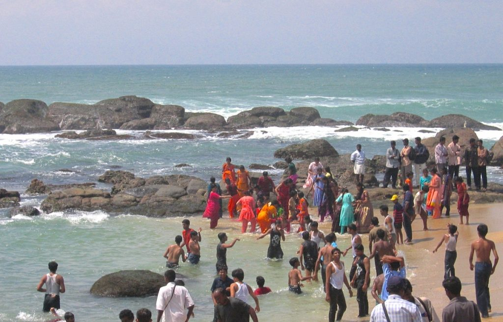 Strand in Indien
