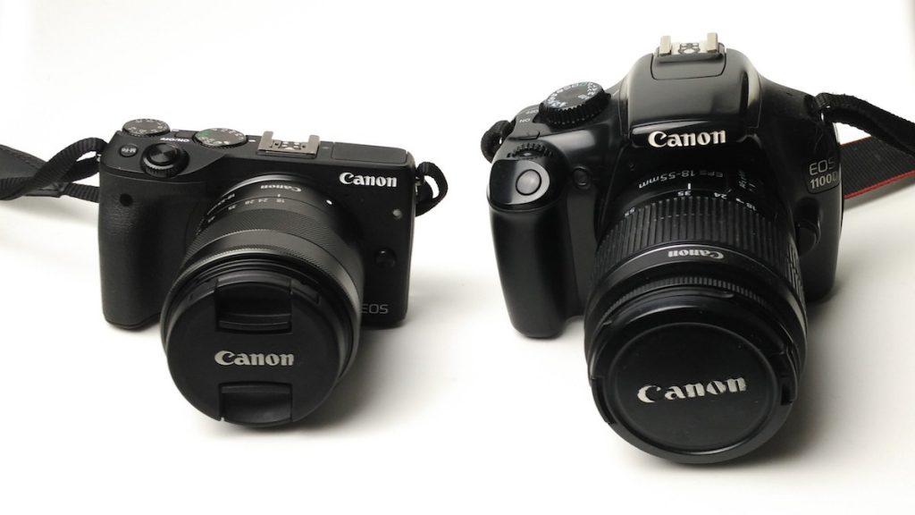 Zwei Kameras für Reisen