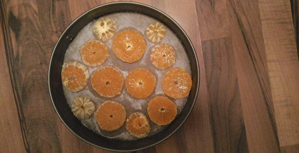 Orangen Kuchen backen