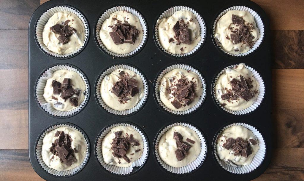 Schnelle Muffins zubereiten