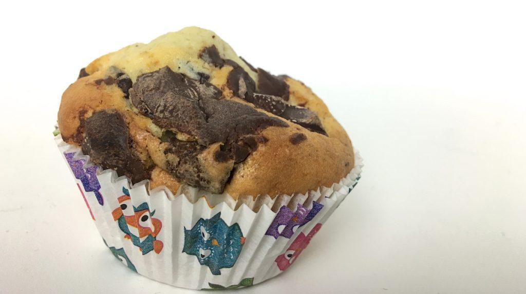 Schnelle Muffins mit Schokolade