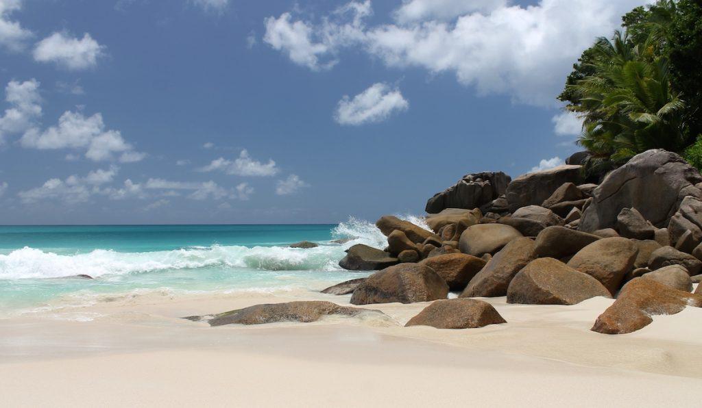 Einer der schönsten Strände der Seychellen