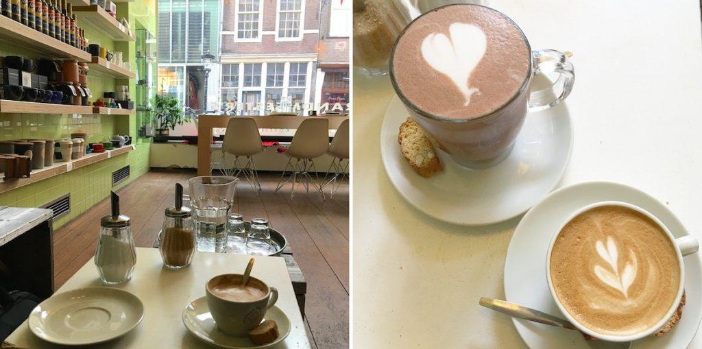 Utrecht Kaffee trinken