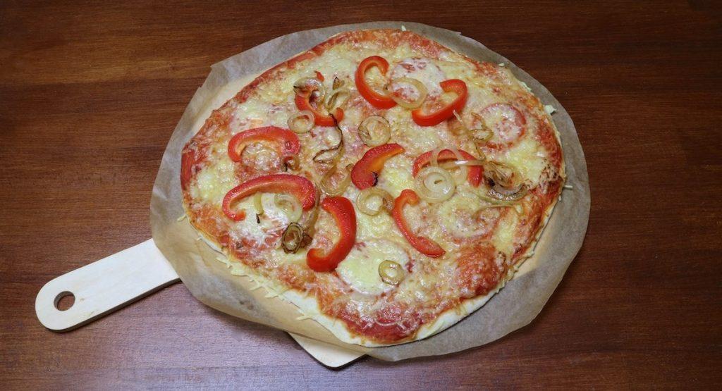 Pizza backen
