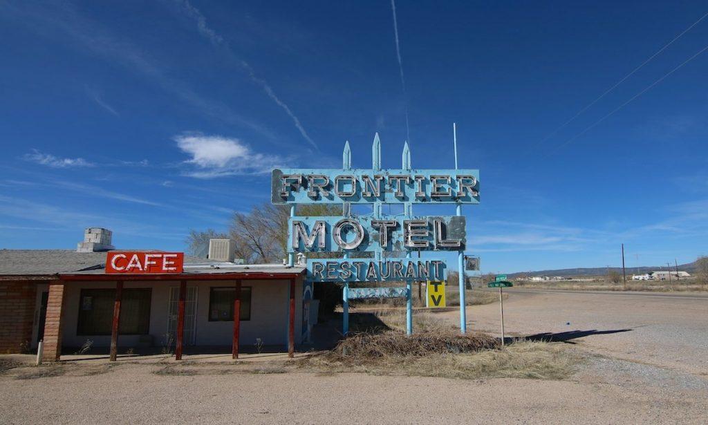 Verlassenes Motel Route 66