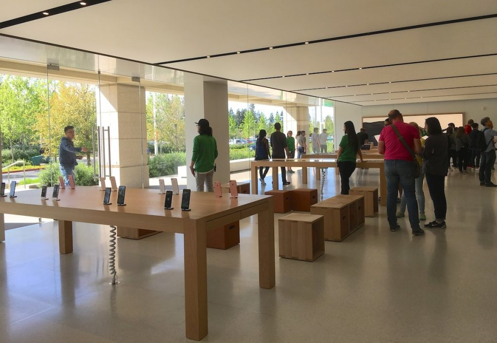 Apple Store im Silicon Valley