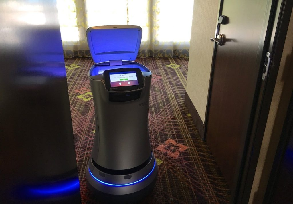 Hotel Roboter im Silicon Valley
