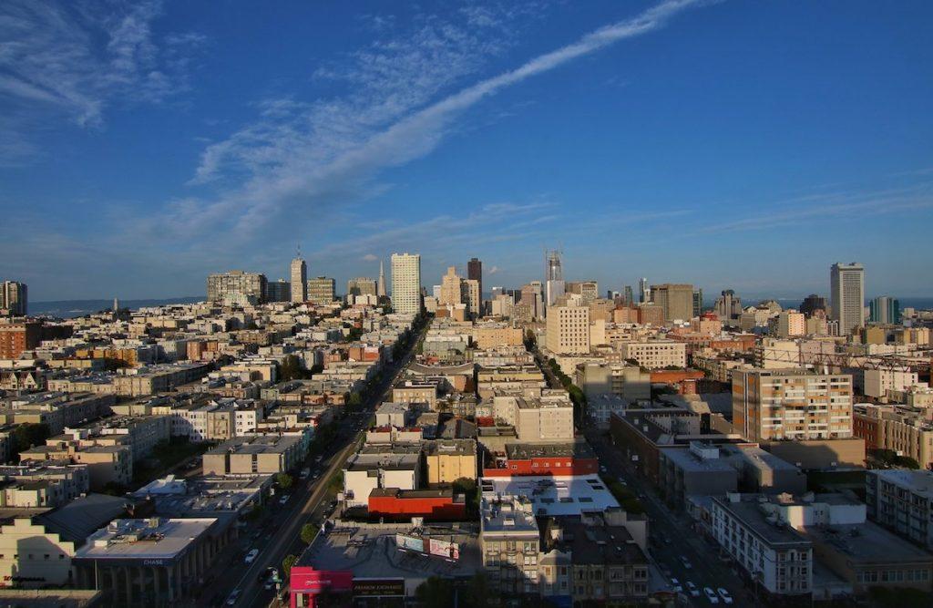 Traumblick auf San Francisco