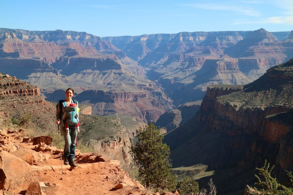 Grand Canyon mit Baby