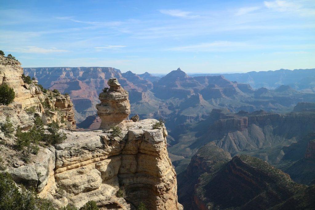 Grand Canyon an zwei Tagen