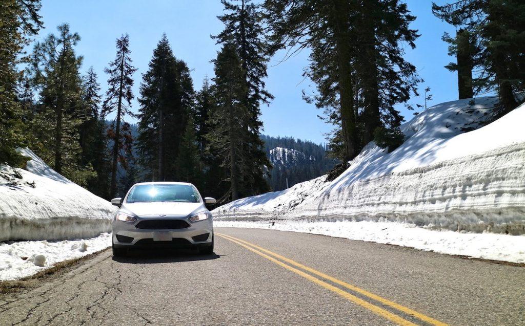 Autofahren in den USA bei Schnee