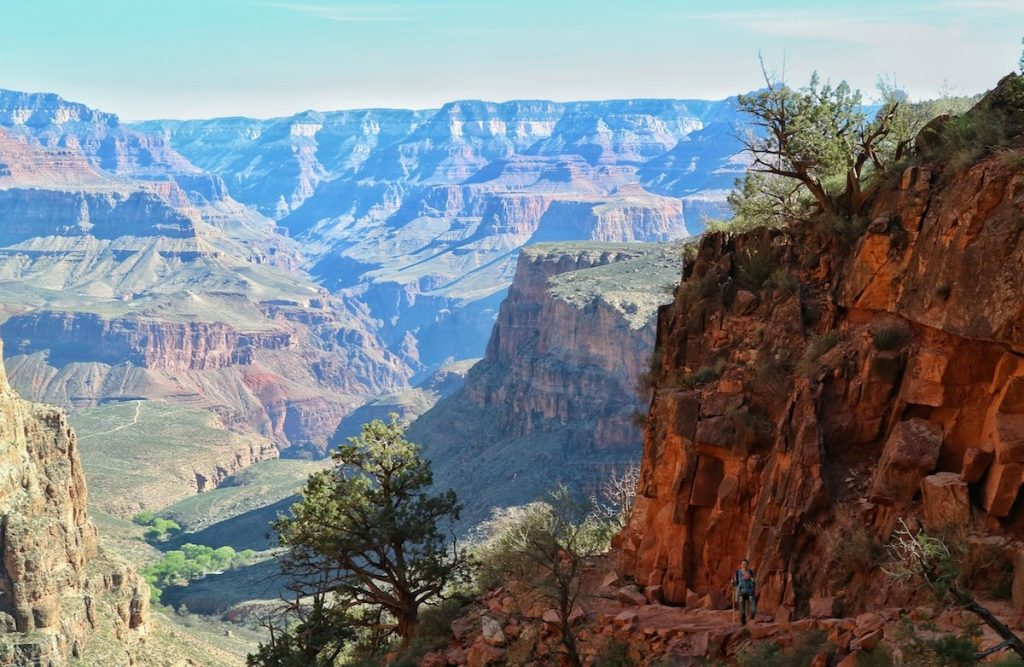 Wir wandern in den Grand Canyon