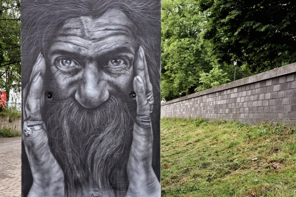 Street Art in Krefeld Portrait