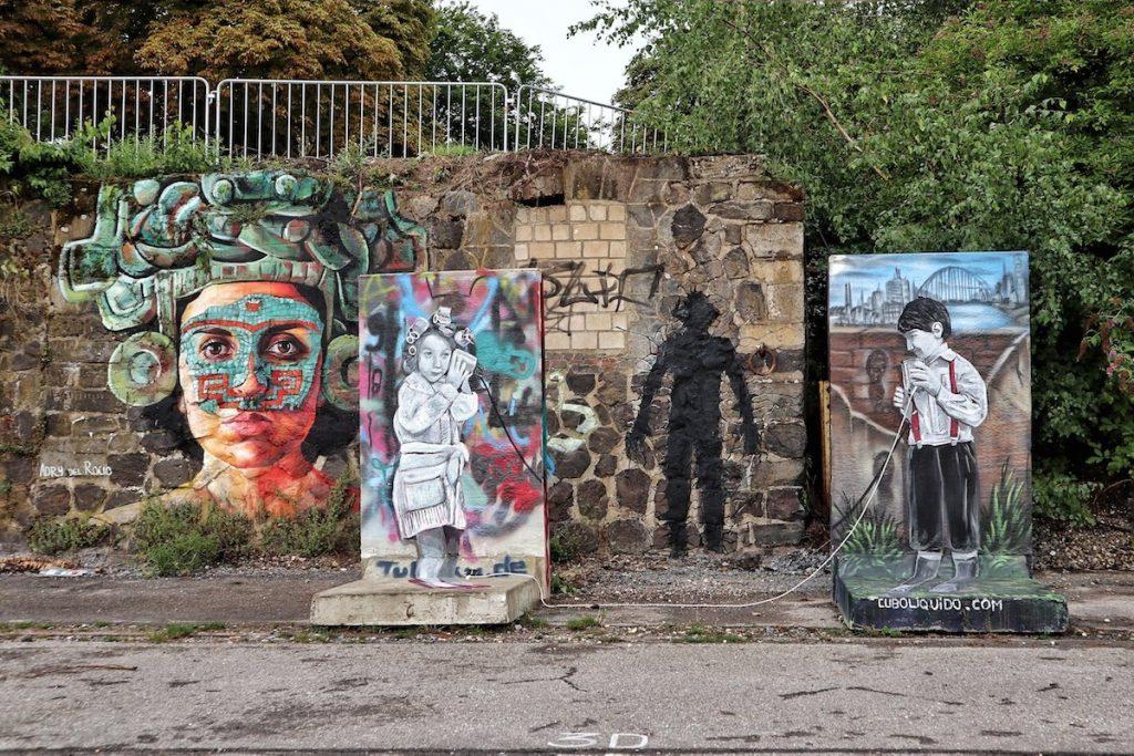 Street Art in Krefeld bei Düsseldorf