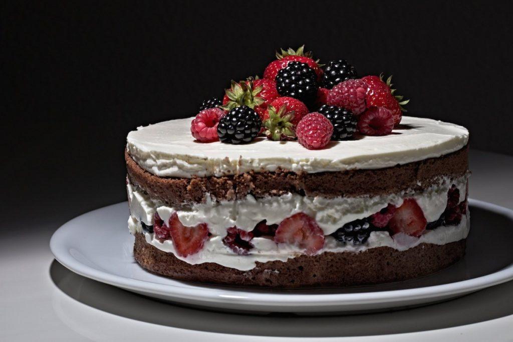 Leckere und schöne Torte