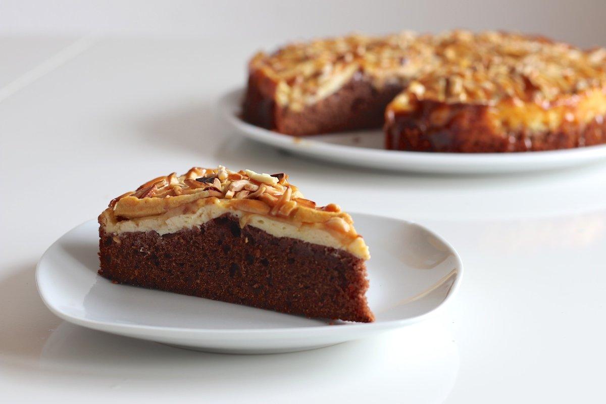 Apfel Torte Rezept Mit Apfeln Pudding Schoko Karamell Webundwelt