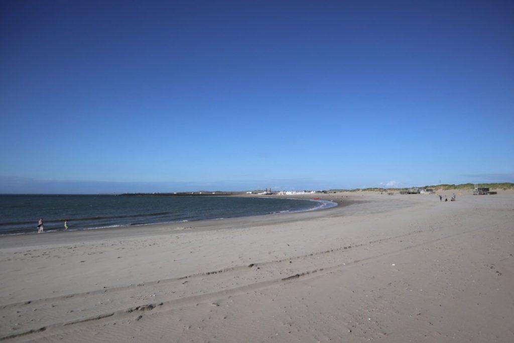 breiter Strand in Renesse