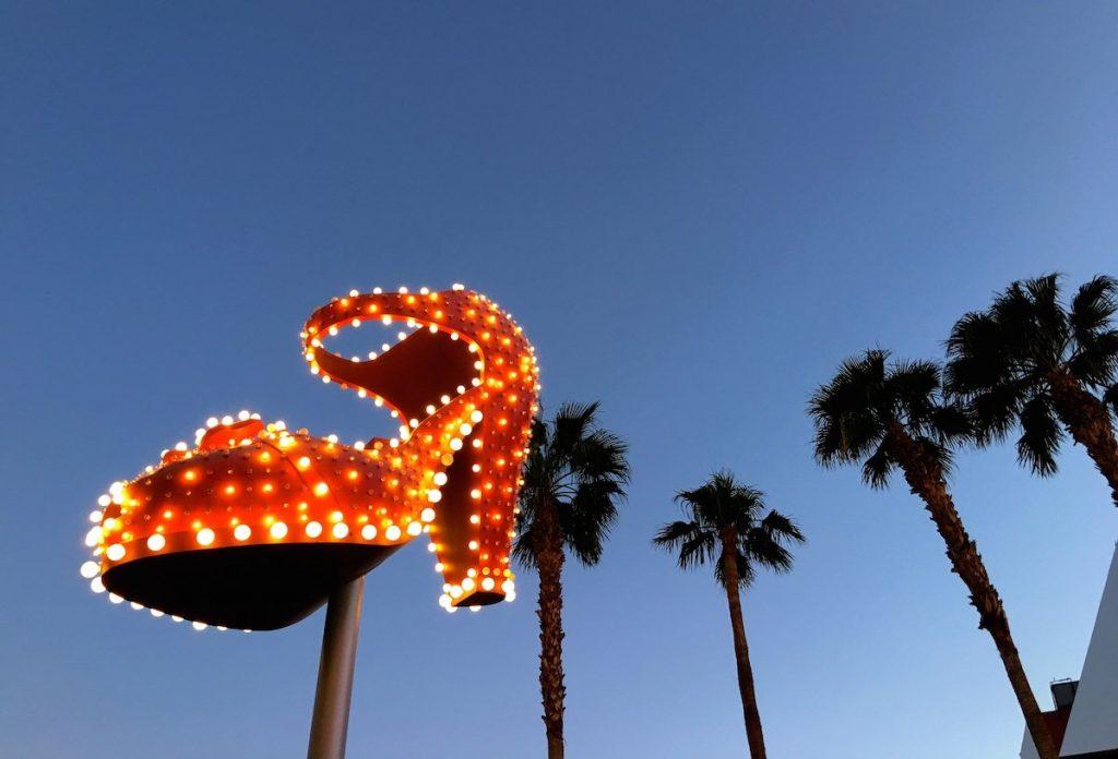 Heiratsantrag auf Reise Las Vegas