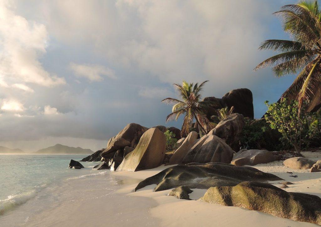 Heiratsantrag auf Reise Seychellen
