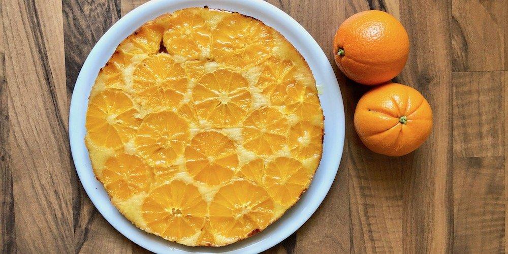 Saftiger Orangen-Kuchen | Rezept