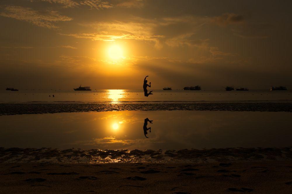 Fotospots in Thailand Spiegelung