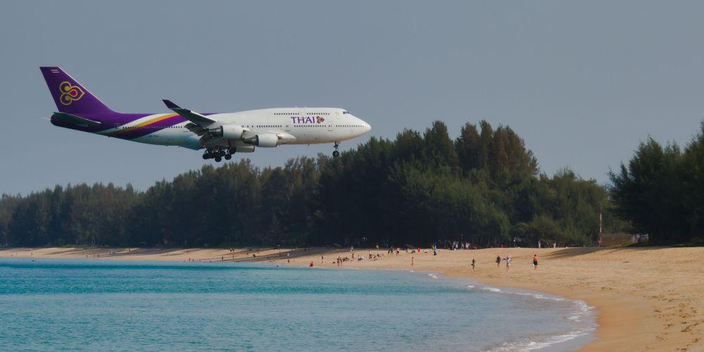 Plane Spotting in Phuket Thailand