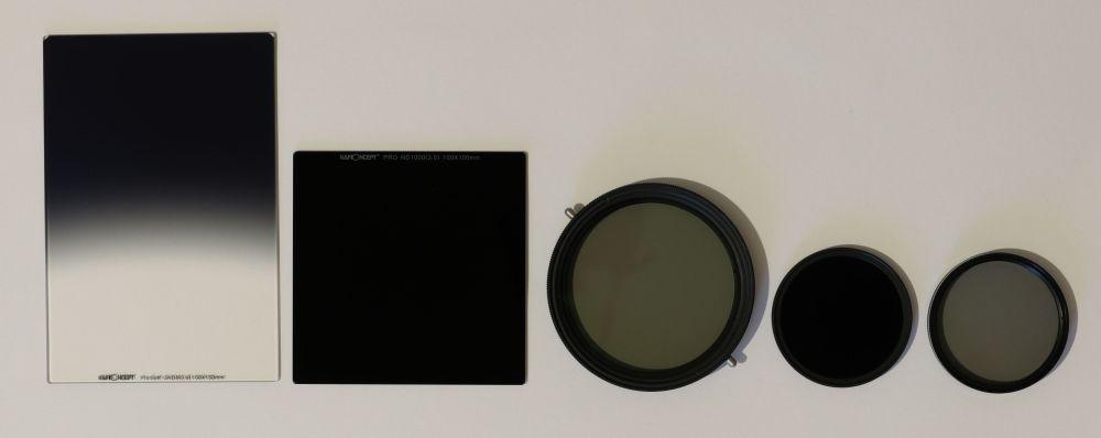 Übersicht Filter Fotografie
