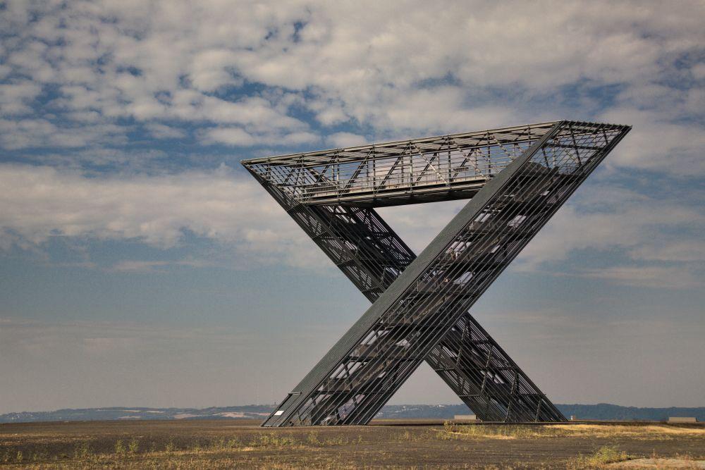 Die schönsten Fotos 2020 Skulptur Saarpolygon