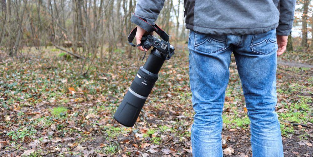 Canon RF 800 F11 Test